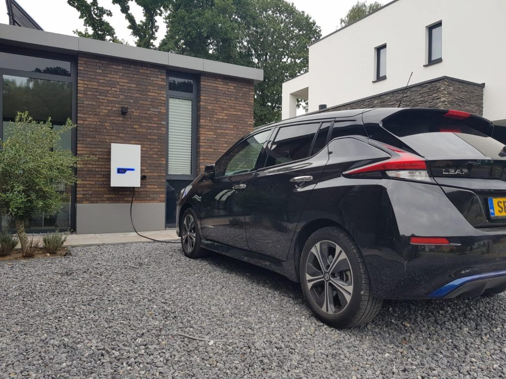 V2G Charger 10 kW DC - Venema Emobility Charge Systems