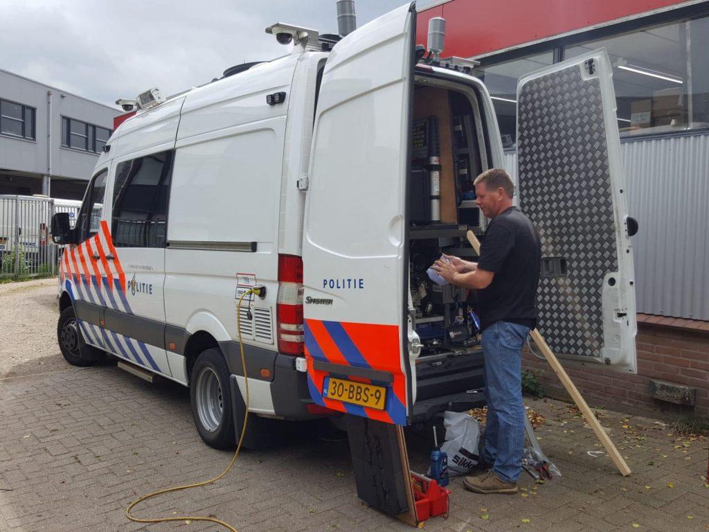 Venematech Automotive E-Mobility Storage Systems Arnhem Victron Politie Veth Nederland 3